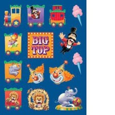 *Big Top Birthday Circus Stickers 4 sheets