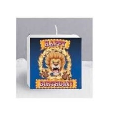 *Big Top Circus Birthday Candle