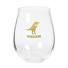 CR Gibson Winosaur Steamless Acrylic Wine Glass