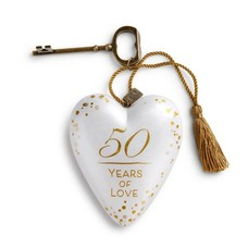 50 Years of Love Art Heart