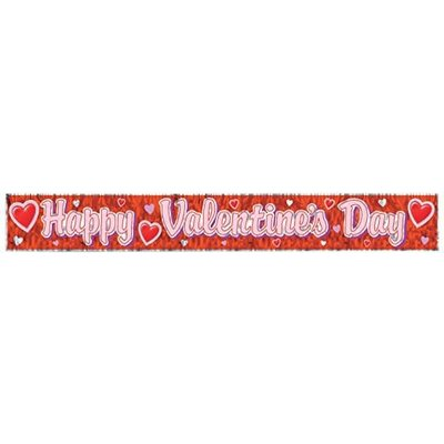 Happy Valentine's Day Fringe Banner
