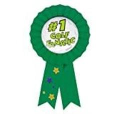 *#1 Golf Fanatic Award Ribbon