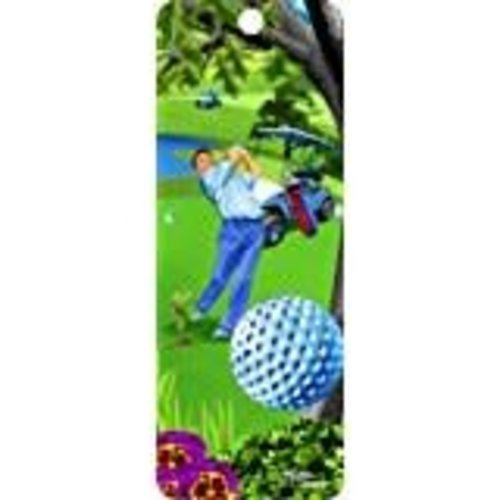 *Golf 3D Bookmark