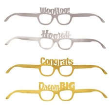 Novelty Graduation Paper Glasses