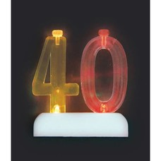 *Flashing Candle Holder 40