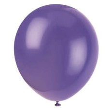 *Amethyst Purple 72ct Latex Balloons