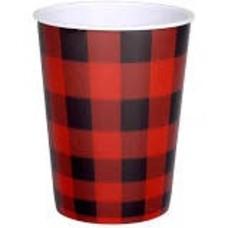 Buffalo Plaid 16oz Plastic Cup