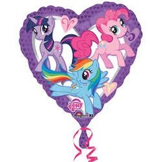 *My Little Pony Heart Shape Mylar Balloon
