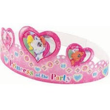 *My Little Pony 6ct Paper Tiaras