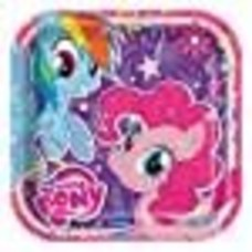 "*My Little Pony 9"" Plates"