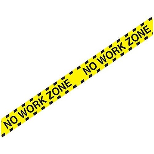 No Work Zone Party Tape