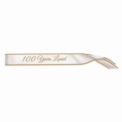 *100 Years Loved Sash