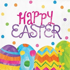 Easter Egg Toss Lunch Napkins