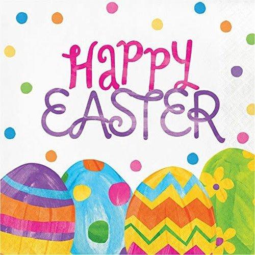 *Easter Egg Toss Lunch Napkins 16ct