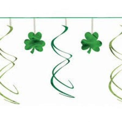 *St. Patrick's Day Swirl Garland 12ft