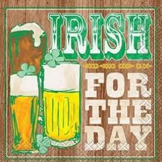 Irish for the Day Beverage Napkin