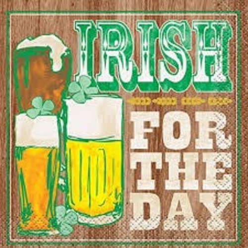 Irish for the Day Beverage Napkin