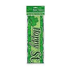 Happy St.Patricks Day Foil Banner