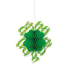 Shamrock Honeycomb Hanging Decoration