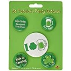 Irish Party Buttons