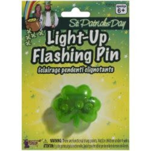 Flashing Light up Pin