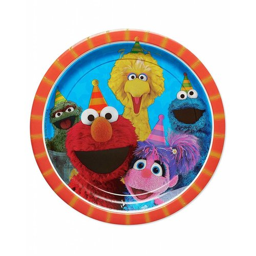 Sesame Street 9in Plate