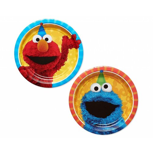 Sesame Street Dessert Plates