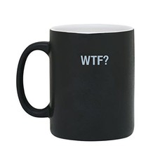 About Face Designs WTF? Coffee Mug