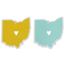 About Face Designs State of Mine Car Air Freshners Ohio