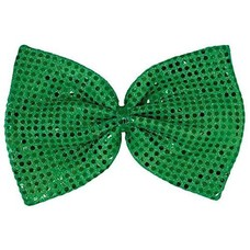 Giant Green Sequin Bow