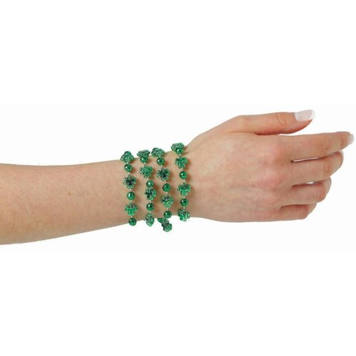 Shamrock Bead Bracelets