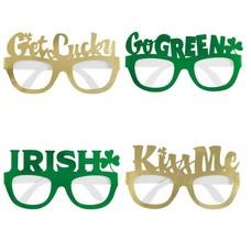 Saint Patrick's Day Paper Glasses