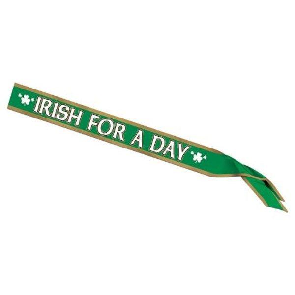 Irish For A Day Sash