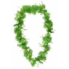 Shamrock Flower Lei