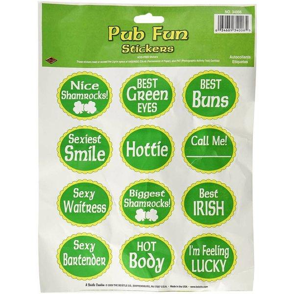 Pub Fun Stickers