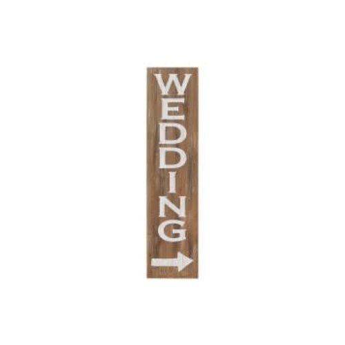 Wedding Vintage Leaner Sign