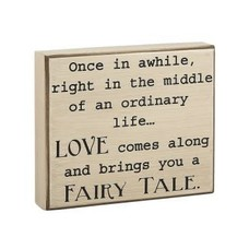 Fairy Tale Block Sign