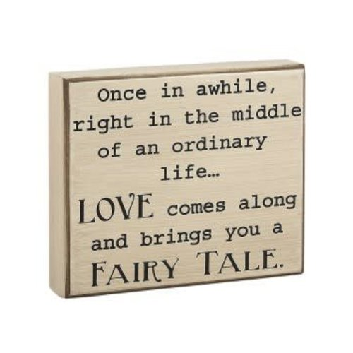 Fairy Tale Block Sign