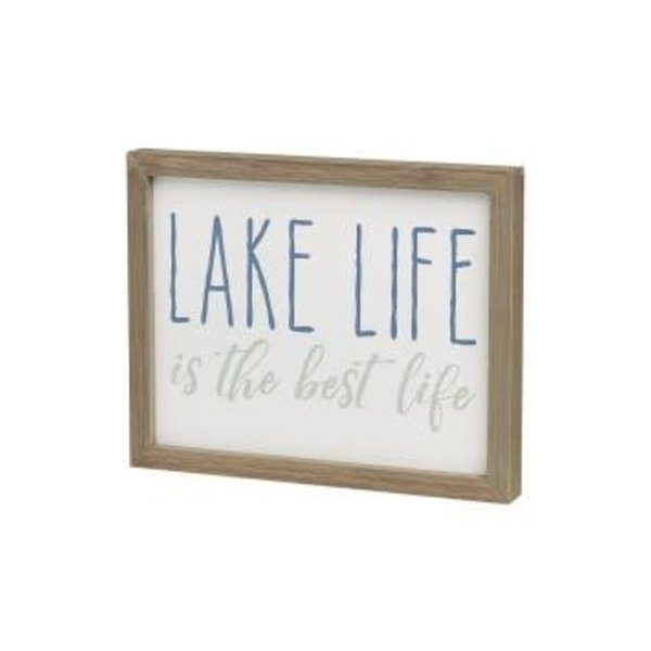 Lake Life is the Best Life Wood Frame - Amys Party Store