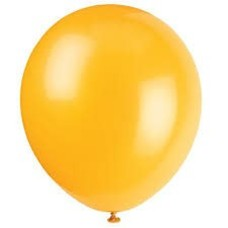 *School Bus Yellow 72ct Latex Balloons