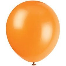 *Pumpkin Orange 72ct Latex Balloons