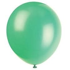 *Emerald Green 72ct Latex Balloons