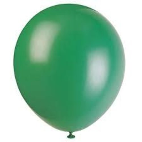 *Deep Forest Green 72ct Latex Balloons