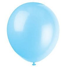 *Baby Blue 72ct Latex Balloons