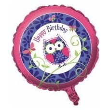 *Owl Pal Mylar Balloon