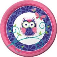 "*Owl Pal 9"" Dinner Plate"