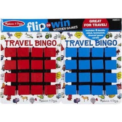 *Travel Bingo Flip to Win