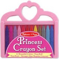 *Crayon Set Princess Crown
