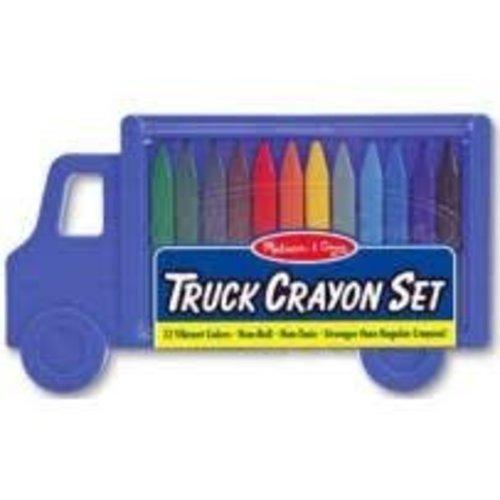 *Crayon Set Truck