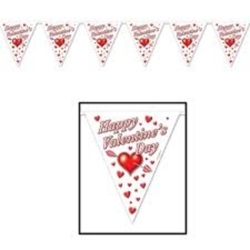 Valentine's Day Flag Banner